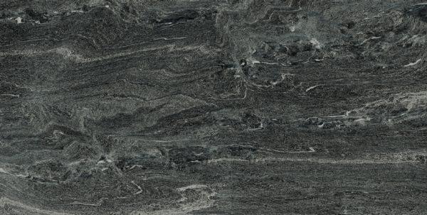 Kufer Platten | Keramik | Marmoriert anthrazit